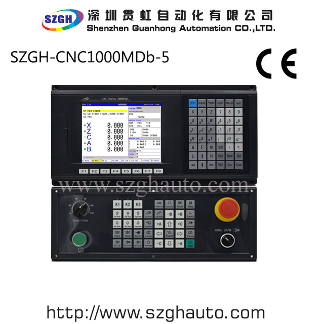 High Performance 5 Axis Cnc Milling Controller Cnc1000mdb 5 Ac Servo Stepper Control Panel For Brideport In Cnc Controller From Tools On Aliexpress Com