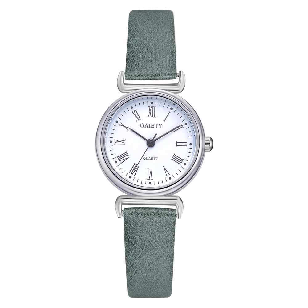 050c334e062 Woman Fashion Leather Band Analog Quartz Round Wrist Watch Watches 2018  Luxury European Style Ladies Watches