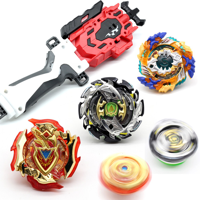<font><b>BEYBLADE</b></font> <font><b>BURST</b></font> B-96 <font><b>B128</b></font> B127 SUPER Z TRIPLE BOOSTER SET BB11910 w/ Sword Launcher image