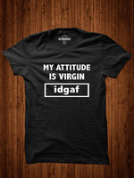 Idgaf Shirt Attitude T Shirt Funny Shirt Sarcasm Shirt Slogan Tshirt For Girl Fashion Shirt Hipster