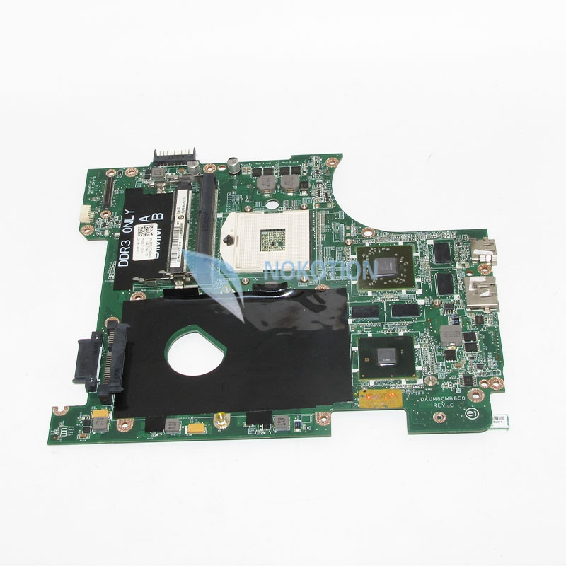 NOKOTION CN-0951K7 0951K7 951K7 Laptop Motherboard For Inspiron 14R N4010 Main Board HM57 HD5650M DAUM8CMB8C0 works nokotion cn 0uw953 uw953 mainboard for dell inspiron 1501 laptop motherboard 0uw953 ddr2 socket s1