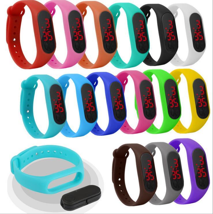 Diskret Neue Explosion Student Kinder Elektronische Led Armband Uhr Mode-trend Paar Armband Uhr Uhren