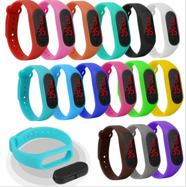 New explosion student children's electronic LED bracelet watch fashion trend cou