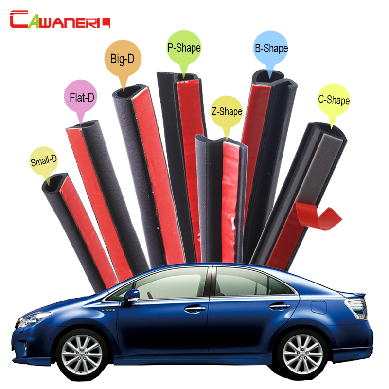 Cawanerl Car Rubber Sealing Seal Strip Kit Sound Control Seal Edging Trim Weatherstrip For Lexus HS HS250h IS Cross 200 300 cawanerl whole car seal sealing strip kit sound insulation seal edging trim rubber weatherstrip for lincoln continental ls mks