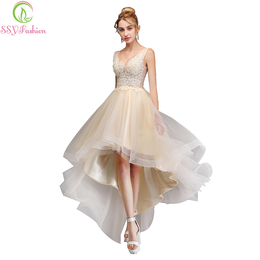 Sweet Cocktail Dresses 2017 New SSYFashion Bride Married Banquet ...