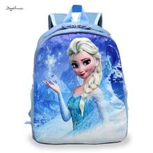 Cartoon Princess Elsa Anna mini backpacks for girls cute Violetta children schoolbag floral Bookbags backpack Mochila Escolar