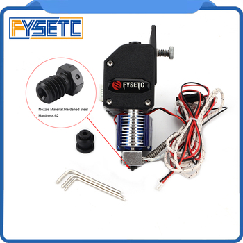 BMG экструдер v6 Hotend двойной привод экструдер с PT100 датчик затвердевающий сопло для Wanhao D9 Creality CR10 Ender 3 Anet E10