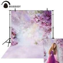 Allenjoy Hoa Nhiếp Ảnh Backdrop Mùa Xuân Bokeh Phục Sinh VƯỜN Nền Ảnh Phòng Thu Photophone Để Chụp Photocall Vải