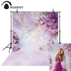 Image 1 - Allenjoy Hoa Nhiếp Ảnh Backdrop Mùa Xuân Bokeh Phục Sinh VƯỜN Nền Ảnh Phòng Thu Photophone Để Chụp Photocall Vải