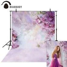 Allenjoy çiçek fotoğraf zemin bahar bokeh paskalya bahçe arka plan fotoğraf stüdyosu photophone photobooth photocall kumaş