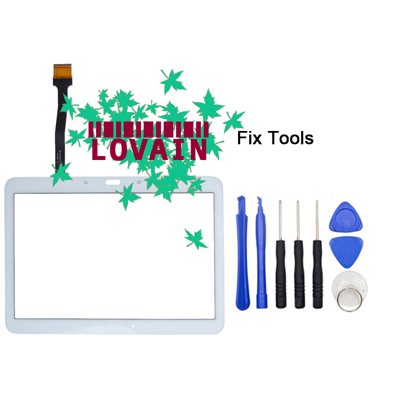 LOVAIN 1PCS (Tested) Original For Samsung Galaxy Tab 4 10.1 T530 T531 T535 Glass Digitizer Touch Screen LCD Outer Panel+Tools for samsung galaxy tab 4 t530 t531 t535 10 1touch panel touch screen digitizer glass panels free shipping