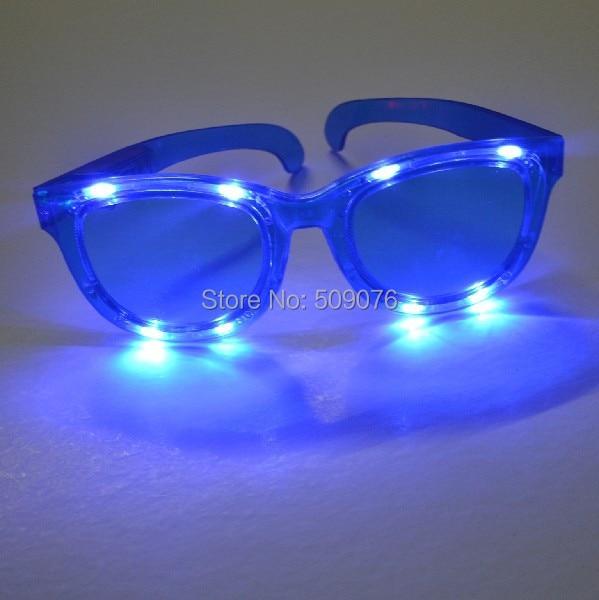 O envio gratuito de 24 pçs/lote 3 modo led Extra grande óculos óculos led óculos de luz led para o evento & fontes do partido