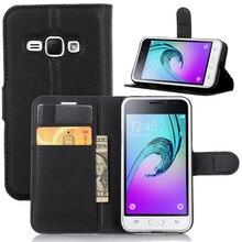 Чехлы для мобильных телефонов Fundas для Samsung Galaxy J1 J120/J1 Pro Флип кожаный чехол Магнитный чехол подставка кошелек с держателем для карт