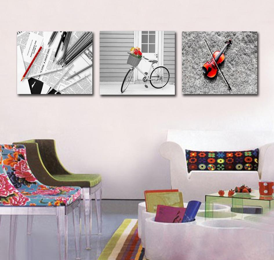 Buy 3 piece canvas wall art paintings for for Wall paintings for office