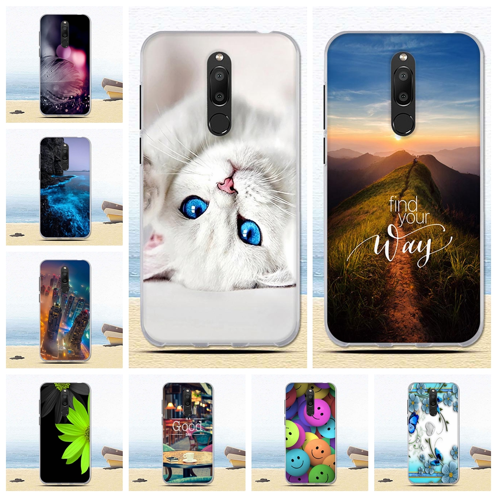 For <font><b>Meizu</b></font> <font><b>M6T</b></font> Case 5.7'' Silicone Painted Cartoon Back Cover For <font><b>Meizu</b></font> <font><b>M6T</b></font> Case M6 T Cover Soft TPU Funda for <font><b>Meizu</b></font> M 6T <font><b>M811H</b></font> image