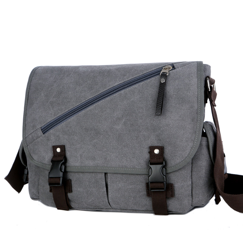 Vintage Men's Messenger Bags Big Capacity Canvas Shoulder Bag Casual Men Business Book Crossbody Bag Travel Handbag цена