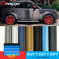 60*500cm Matte Drawing Vinyl Film Car Wrapping Foil Decorative Matt Chrome Brushed Automobiles Sticker Car Styling Accessories