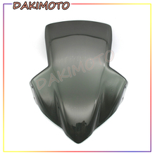 for HONDA CB650F 2017 2018 New Motorcycle Windscreen Windshield Shield Screen black motorcycle motorbike windshield double bubble windscreen wind deflectors air flow for honda cbr1000rr cbr 1000rr 2004 2007