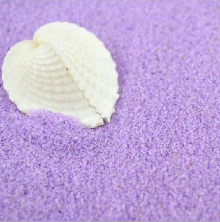 1 кг светло-фиолетовый речного песка для фантазии миниатюры Фея Садовый Гном Moss Террар ...