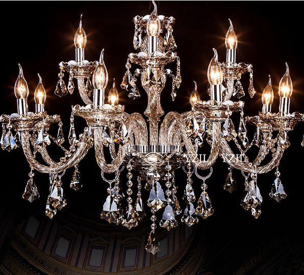 K9 CRYSTAL chandelier crystal light chandeliers living room bedroom dining room Cognac chandelier crystal lighting