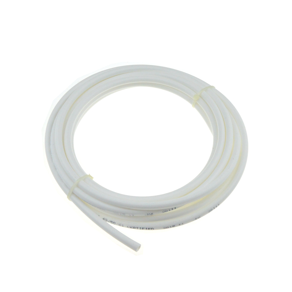 1 Meter RO Water 1/4 3/8 Inch OD PE Hose Tubing White Flexible Pipe Tube For Reverse Osmosis Aquarium Filter System water purifier parts hose flow bend clip 90 degree 1 4 pe tube elbow corner device reverse osmosis system hose pipe diversion