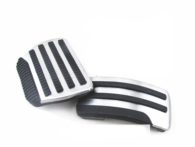 Car Foot Pedal Gas Brake Pedal For Nissan Qashqai Dualis 2008-2013 For X-Trail 2010-2013 AT Stainless Steel And Rubber 2pcs (4)