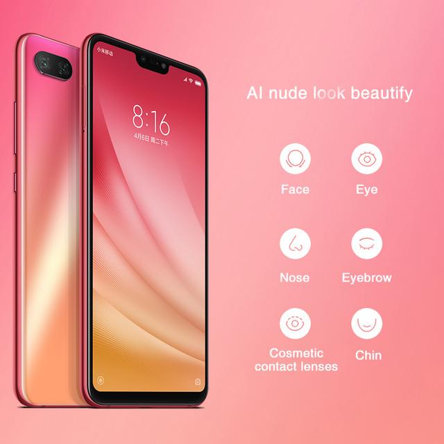 Global Version Xiaomi Mi 8 Lite 4GB 64GB 6.26″ 19:9 Notch Full Screen Snapdragon 660 Octa Core 24MP Front Camera Mi8 Smartphone