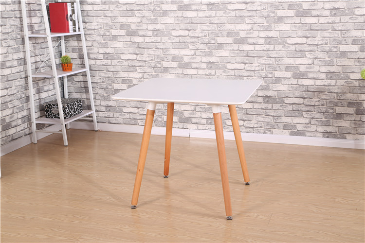 A square table. Small family table. Study desk reception desk new bamboo garden style square table assembly square desk small learning healthy and environmental protection