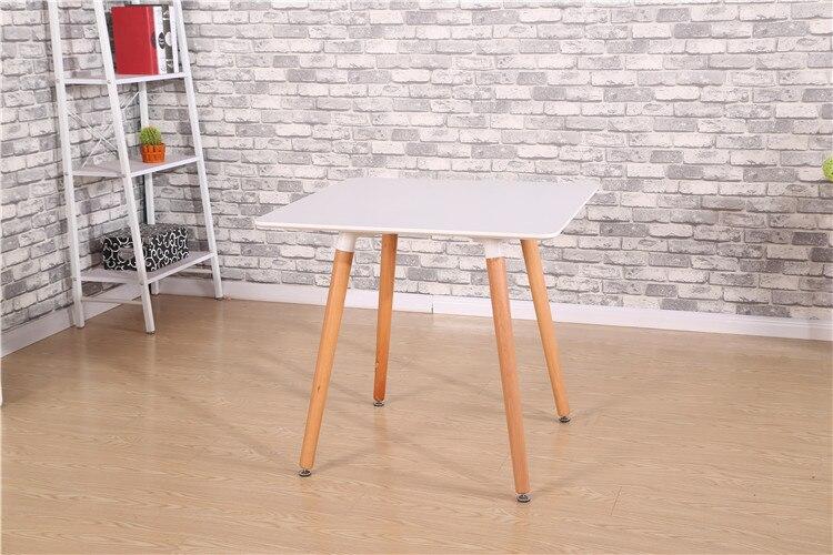 A square table. Small family table. Study desk reception desk