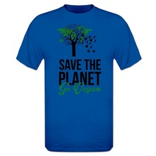 """Save The Planet – Go Vegan"" men's t-shirt"