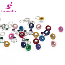 Metal Eyelet Accessories Scrapbooking Crafts Garment 100set for DIY Doll G1205 Lucia