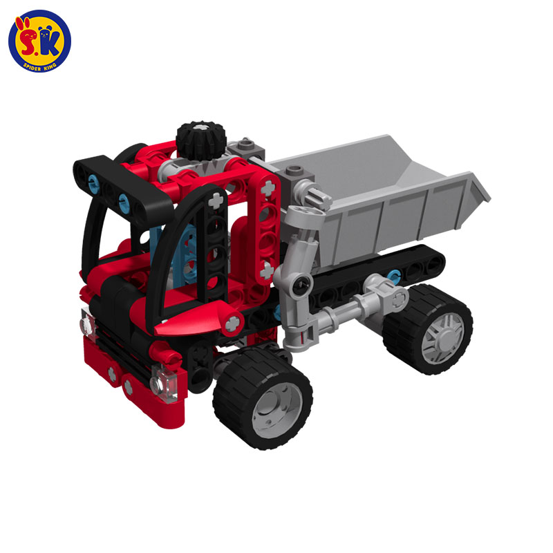 SK Free Shipping On Sale Boy Plastic Building Block Engineering Truck Brick Compatible Toy Set