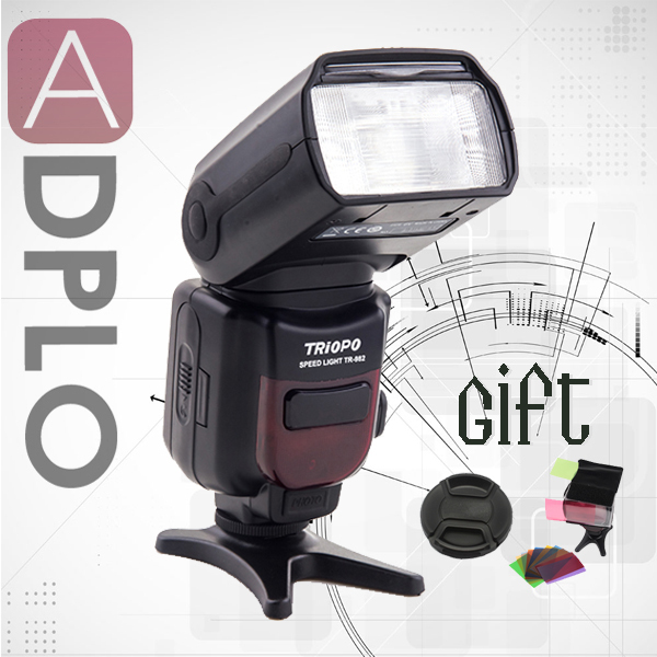 Buy 1 get 2 gift !Triopo TR-982 Wireless E-TTL Flash Light 1/8000s Suit for Canon Camera 5D MARK 3 canon mark 4 as YN568EX image