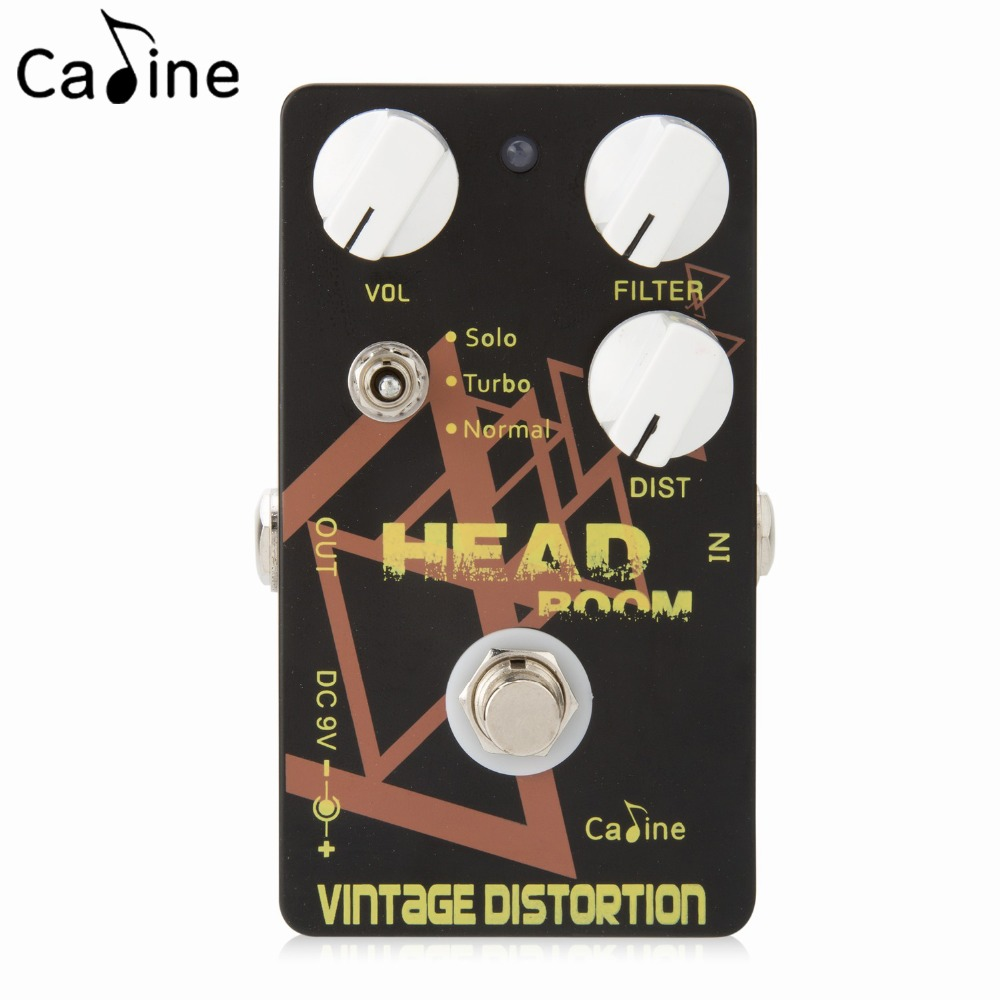 Caline Aluminum Alloy Guitar Effects Vintage Distortion Pedals with Volume Filter and True Bypass sephora vintage filter палетка теней vintage filter палетка теней