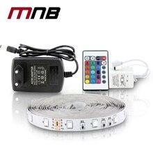5M 300Leds Non-waterproof RGB Led Strip Light 3528 DC12V 60Leds/M Flexible Lighting String Ribbon Tape Lamp Home Decoration Lamp
