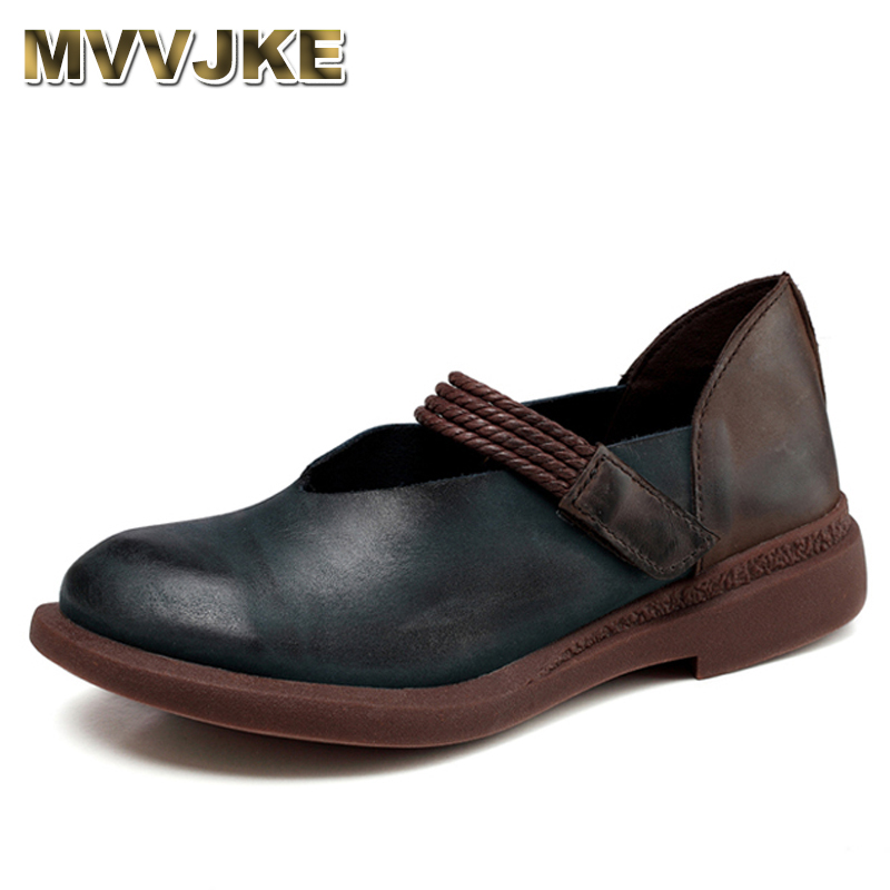 MVVJKE 2018 New Spring Women Shoes Genuine Leather Mixed Colors Hook & Loop new transformation action figure masterpiece mp 12 mt12t mp 16 mp 17 mp 18 mp18s mp 19 mp 20 mp 21 mp 23 mp 25 mp 26
