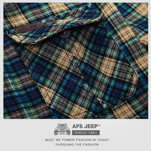 Plaid Cotton Casual Shirts – Luxury Army Dress Shirts