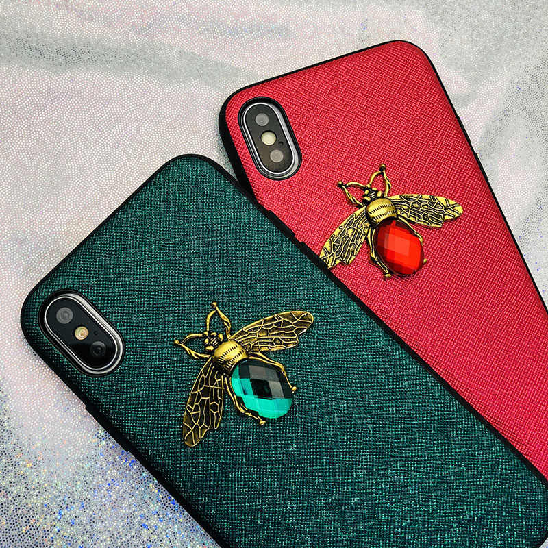 Shining Bee Telefoon Case Voor Iphone 11 X Xr Xs Max 8 7 6 S Plus Case Voor Samsung A70 a50 S8 S9 S10 Plus Note9 10 Pro Glitter Back