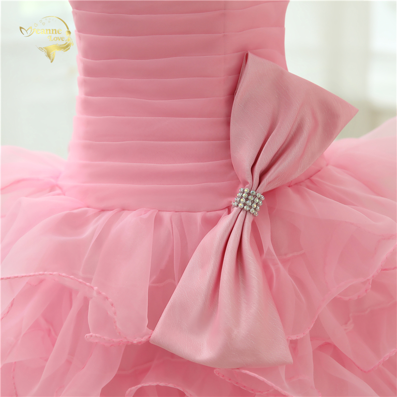 Ζεστό Πώληση Vestido De Festa Curto 2019 Ροζ - Ειδικές φορέματα περίπτωσης - Φωτογραφία 5