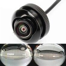 600L CCD 180 градусов камеры Fisheye широкоугольный объектив сзади спереди сбоку обратный резервный камера 360 rotato ночного видения водонепроницаемый