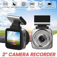 Q2 1080P Car DVR DVRS Radar Detector FHD Video Recorder Cam Dash Camera ADAS LDWS Removable Magnetic Support 34x52x50mm