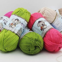 500g Lot Nine Shares Koala Hand Knitted Cashmere Baby Wool Thick Coat Scarf Yarn Hand Knitting