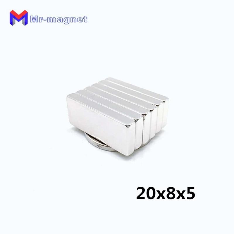 20mm X 8mm X 5mm Magneten Fest In Der Struktur Ndfeb Magnet 20*8*5mm GüNstig Einkaufen 100 Stücke Hohe Qualität 20x8x5mm Super Starke Neo Neo Dymium Magnet 20x8 X 5
