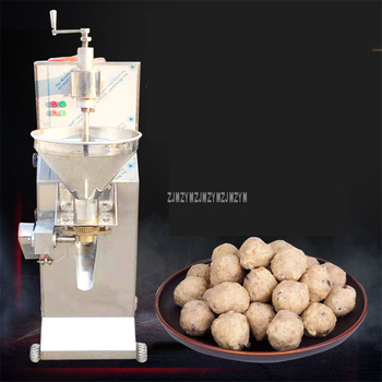 Automatic Beef Ball Maker Machine Commercial 160-220pcs/min Round Beef Meat Ball Processing Making Equipment 24mm 28mm 30mm 2