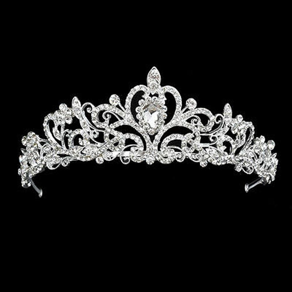 2019 Princess Headwear Toddlers Bandage Crystal Rhinestone Hair Crown Headband Baby Kid Girls Lovely Infant Hair Accessories New