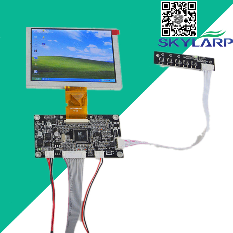 5''inch TFT LCD for INNOLUX ZJ050NA-08C Resolution: 640x480 50Pin Plus VGA AV LCD Display Controller Board Kit Free shipping free shipping v m70a vga lcd controller board kit for lta159b870f 15 9 inch 1280x645 2ccfl lvds 20 pins