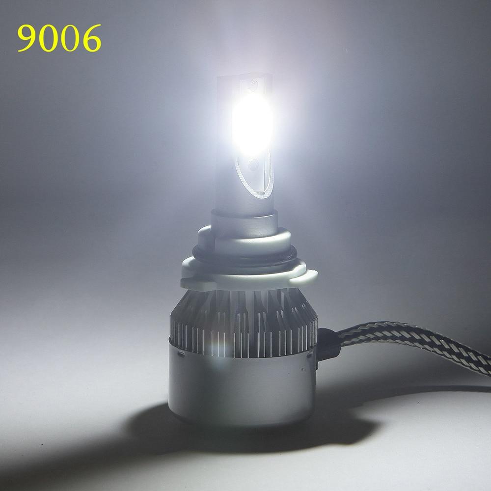Automobiles H7 H1 H11 led Car Light Bulbs Headlights 12v 72W 7600LM Led Headlamp 6000K Fog Lamps External Lights Source c6 White 1 7 11