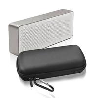 Caixa De Armazenamento suave EVA Casca Dura de Viagem Com Alça de Acessórios Bluetooth Speaker Portátil À Prova D' Água À Prova de Choque Para Xiao mi mi
