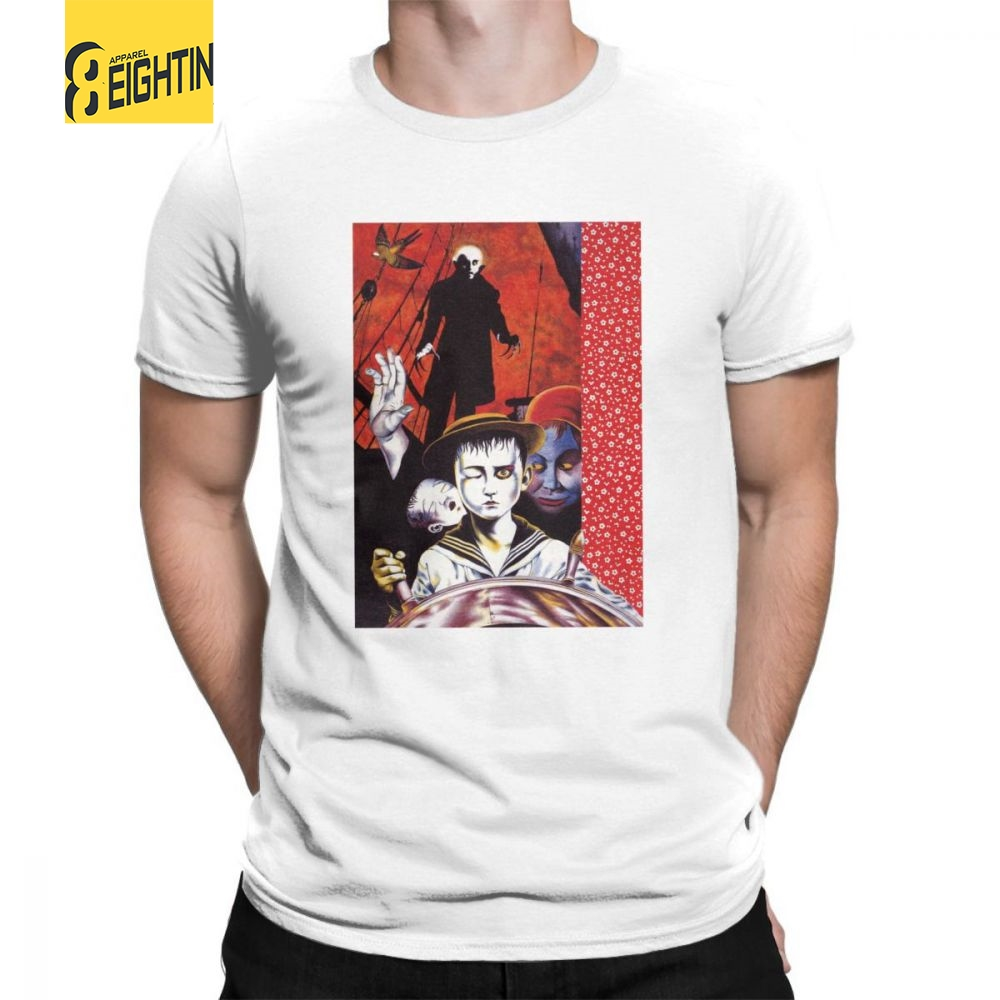 Monster Brains Suehiro Maruo T-Shirts Horror Comics Pure Cotton Printing Japanese Men's Short Sleeves Newest T Shirts O-Neck Tee