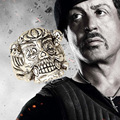 The Expendable Ring Finger Punk Style Stallone Anel Skull Vintage Silver Plated Rings Men Jewelry Wholesale C30